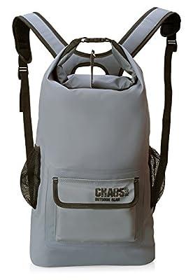 Chaos Ready Waterproof Dry Bag Backpack   Marine Dry Bag For Kayaking, Fishing
