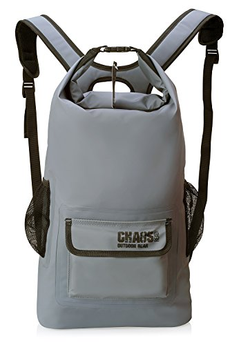 Chaos Ready Waterproof Backpack – Dry Bag – Quality Heavy Duty - Padded Shoulder Straps - Mesh...