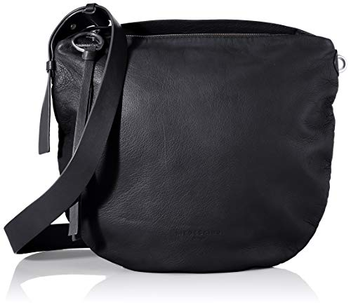 Liebeskind Berlin Damen Dive Bag 2 - Crossbody Medium Umhängetasche, Schwarz (Black), 3x33x33 cm