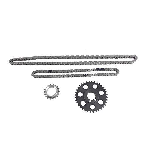 DNJ TK939 Timing Chain Kit for 1994-2004 / Toyota / 4Runner, T100, Tacoma / 2.7L / DOHC / L4 / 16V / 2694cc / 3RZFE