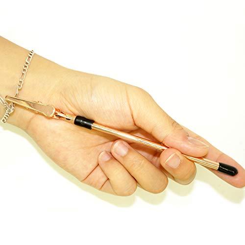 Rose Silver 2 Pcs Hands Bracelet Helper Stick Tool Aids Women with Bracelet, Watch Clasps, Ties, Zippers