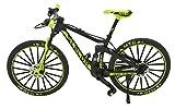 TANG DYNASTY 1:10 7inch Metal Mini Mountain Bike Bicycle Model DIE CAST Toy Finger Bikes (Black&Green)
