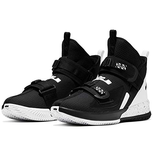 Nike Lebron Soldier XIII SFG TB Basketball Shoes, CN9809-002 (13 M US) Black/White