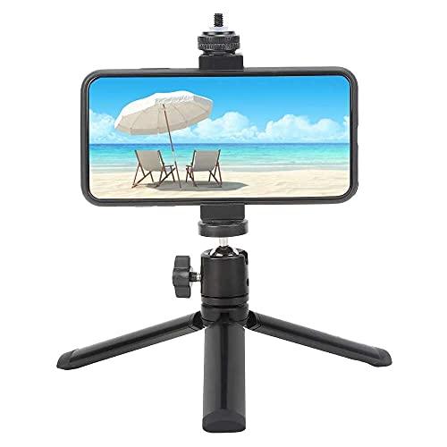 Yuyanshop Mini trípode de escritorio, soporte de mano con boca de zapata fría y orificio de tornillo de 1/4 pulgadas para Insta360 One X Motion Camera Supplies