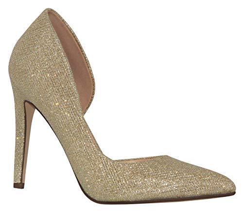 MVE Shoes Women's Pointed Toe Pumps Shoes, Zumba Gold SHM 7.5