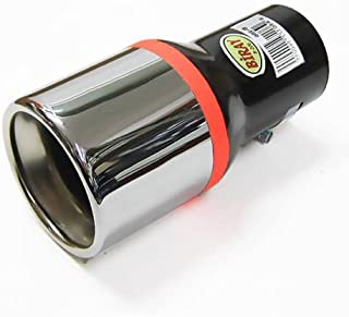 Autohobby 254 Auspuffblende Auspuff Universell Schalldampf Endrohr Blende Edelstahl bis 57mm /Ø Chrom