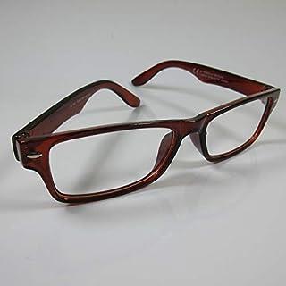 CEPEWA eenvoudige leesbril +3,0 bruin dames & heren leeshulp kant-en-klare bril