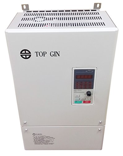 Why Should You Buy TOP GIN New General Purpose Inverter Variable Frequency Motor Drive VFD 37KW 50HP 380V 65.6A Knob Operated Control For Spindle Motor Speed Control With English Operation Manual (VFD-37KW 380V)
