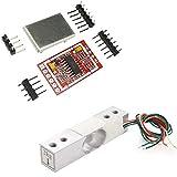 Aihasd 2KG Digitale Wägezelle Gewichtssensor Tragbar Elektronische Küchenwaage + HX711 AD...