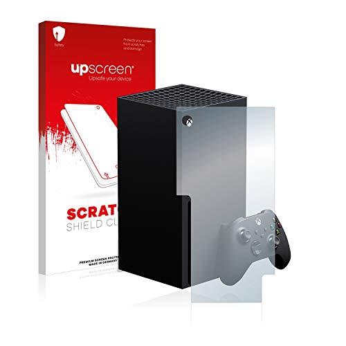 upscreen Schutzfolie kompatibel mit Microsoft Xbox Series X – Kristallklar, Kratzschutz, Anti-Fingerprint
