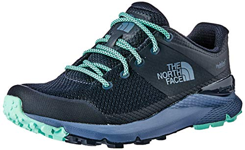 The North Face Women's Vals Waterproof, Urban Navy/Ice Green, 10.5 M