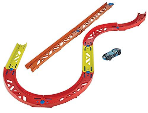 Hot Wheels GLC88 - Track Builder Unlimited Vielseitiges Kurven Set Zubehörteile, Spielzeug ab 6 Jahren