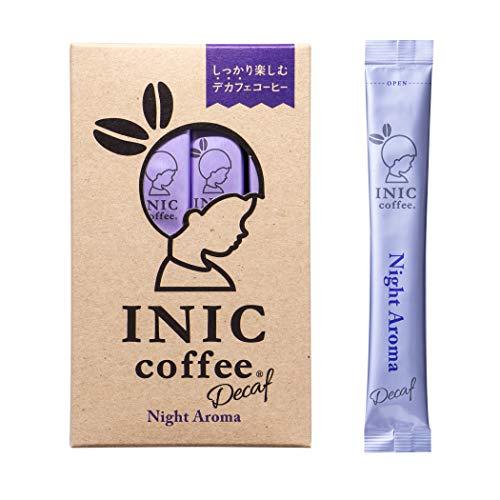 INIC coffee ナイトアロマ スティック 3本 【豊かな深み デカフェを感じさせない本格派】【パウダーコーヒーの最高峰】【カフェイン除去率99.85%】【妊婦さんも安心】【世界のバリスタチャンピオンも採用の味わい】