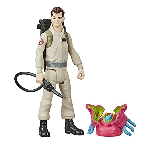 Hasbro Ghostbusters Fright Features Ray Stantz Figure with Interactive Ghost Figure and Accessory, Toys for Kids Ages 4 and Up, Great Gift for Kids
