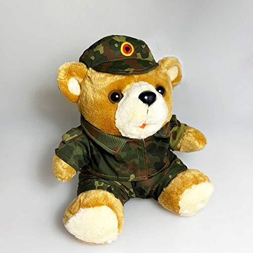 Bundeswehr Teddy Militär in Camouflage Uniform