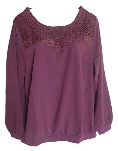 Dressin dames blouse tuniek bessen maat 44 46 48