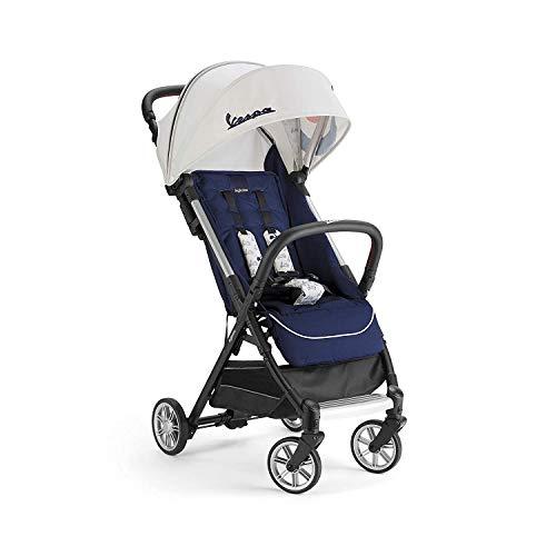 Inglesina Quid Stroller - Lightweight, Foldable & Compact Baby Stroller for Travel - Vespa Blue
