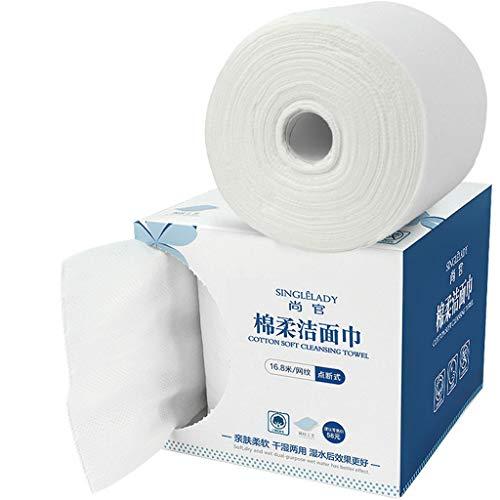 Reißfestes Toilettenpapier Rollenpapier Handtuch Reinigen Schönheitstuch Nass und Trocken Waschlappen