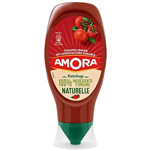 Amora Ketchup 100% Ingra © dients Dâ € ™ natürlichen Ursprungs 469G (Set 5)