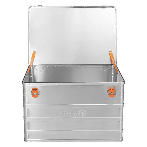 ALUBOX B184 - Aluminium Transportbox 184 Liter, abschließbar - 3