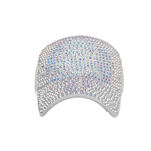 YEZIJIN Men Women Baseball Caps Fashion Adjustable Cotton Cap Star Rhinestone Cap 2019 Best Outdoor Sun Visor Hat