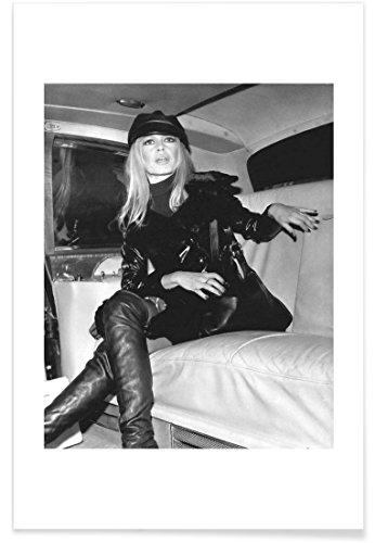 "JUNIQE® Brigitte Bardot Vintage Poster 20x30cm - Design ""Bridget Bardot, 1968"" entworfen von Vintage Photography Archive"