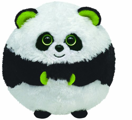 TY 7138002 - Bonsai Ball Panda Stoffball Beanie Ballz, 12 cm