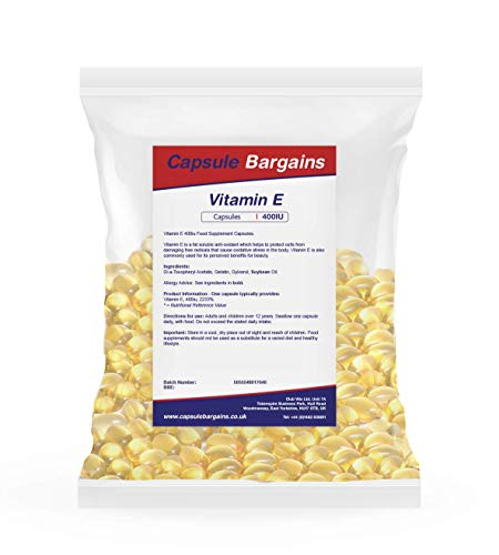 Tablet Bargains Vitamine E 400iu - 100 Capsules