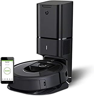 ルンバi7+ アイロボット 最新のロボット掃除機 自動ゴミ収集 水洗いできるダストボックス wifi対応 スマートマッピング 自動充電・運転再開 吸引力 カーペット 畳 i755060 チャコール【Alexa対応】