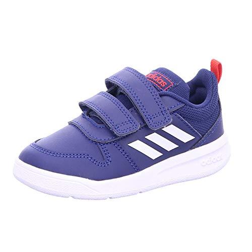 Adidas Tensaur I, Zapatillas de Estar por casa Bebé Unisex, Multicolor (Azuosc/Ftwbla/Rojact 000), 21 EU