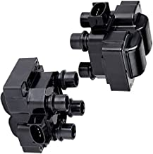 SCITOO Ignition Coil Pack Set of 2 Compatible with for-d/for Lin-coln/Mer-cury 1991-2003 Automobiles Fit for OE: FD487 DG530