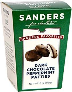 image of Sanders Dark Chocolate Peppermint Patties