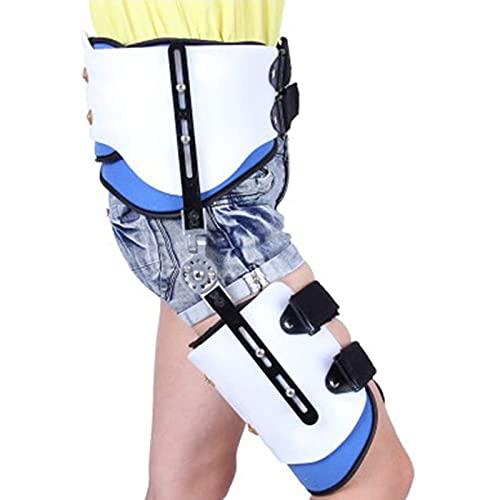 Orthopedische Scharnierende Kniebrace, Verstelbare ROM Scharnierende Heupgewricht Abductie Orthese Beenbrace voor ACL, PCL, MCL, osteoartritis