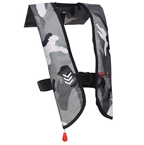 Eyson Inflatable Life Jacket Inflatable Life Vest for Adult Classic...