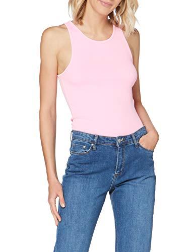 edc by Esprit 040cc1k316 T-Shirt, 673/Pink 4, M Femme