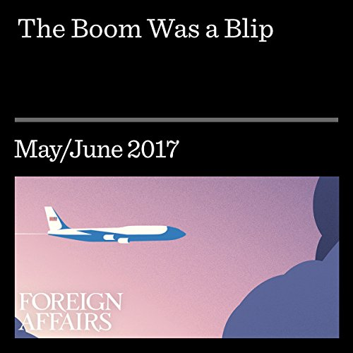 The Boom Was a Blip  By  cover art