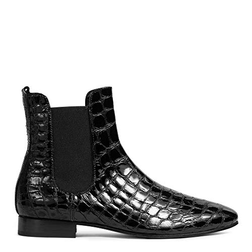 AGL Chelsea-Boots Dixie aus Leder 39 Schwarz