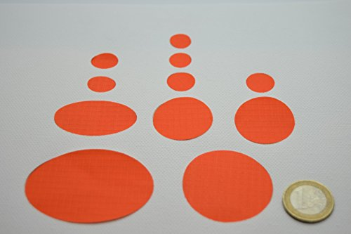 Daunenjacke Erste-Hilfe-Reparatur-Set (orange)
