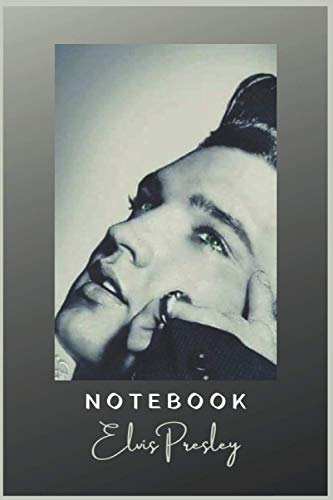 Elvis Presely Notebook and Journal - Perfect Birthday gift: Premium Matte cover with 150 Lined Pages 6x9 inches - Happy Christmas and Elvis Fan Gift
