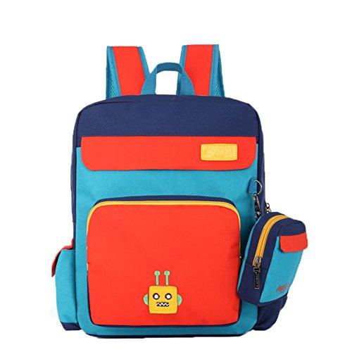 Haute Qualité Enfants Cartable / élèves épaules Sac / Sac à Dos Enfants, Orange
