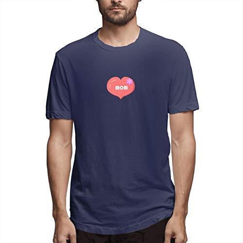 xinfub Camicia Cuore Festa della Mamma Grafica Icone del Computer Icone Rosa Amplificatore Gratuito Icone Premium su ICO Cfedaa T-Shirt Casual in Cotone da Uomo