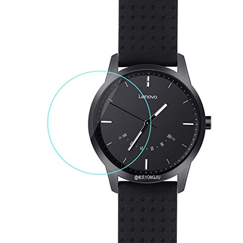 PANGTOU Protector de Pantalla de Reloj Inteligente Película de Vidrio Templado 2.5D de 0.26 mm para Lenovo Watch 9