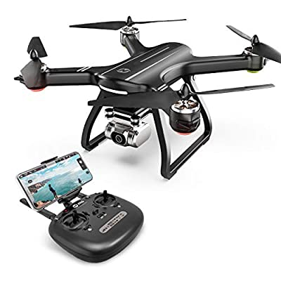 Holy Stone HS700D FPV Drone with 2K FHD Camera Live Video and Brushless Motor, RC Quadcopter for Adults Beginners with GPS Return Home, Follow Me, 5G WiFi Transmission, Modular Battery Advanced Selfie