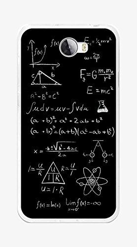 Tumundosmartphone Funda Gel TPU para Huawei Y5 II / Y6 II Compact diseño Formulas Dibujos