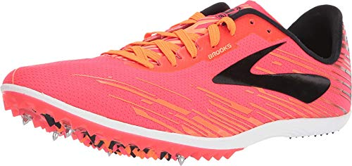 Brooks Mach 18, Zapatillas de Cross para Mujer, Multicolor (Pink/Orange/Black 667), 44.5 EU