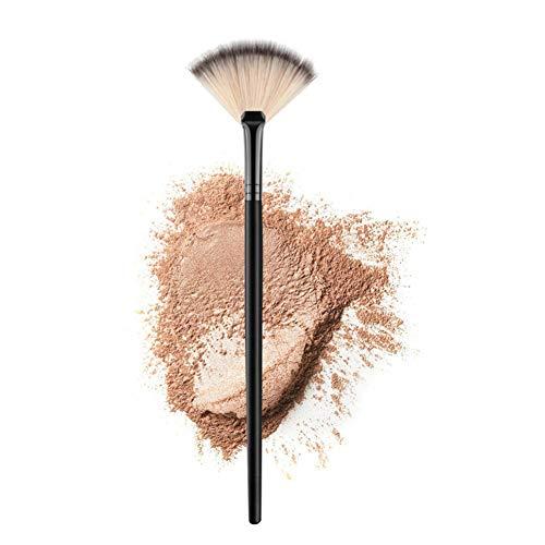 DAHU 1pcs Professionnelle Femmes Brosses de marbre Maquillage Outil Pinceau Doux Maquillage surligneur cosmétiques Brosse