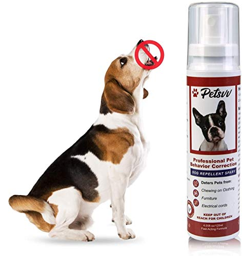 Anti Arañazos Spray para Perros Y Gatos para Evitar Masticar Protege Los Muebles 120 Ml