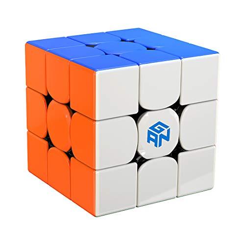 GAN 356 R S, 3x3 Speed Puzzle Cube Gans 356RS Cube(Stickerless)