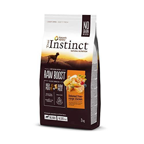 True Instinct Raw Boost - Cibo con pollo per cani, 2 kg