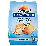 Céréal Mini Cake SENZA ZUCCHERI al limone, merendine dolci senza...